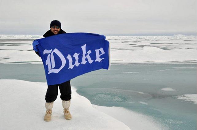 Cassar on sea ice