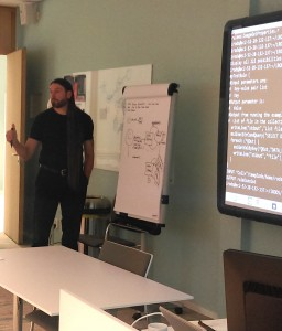 iRODS Chief Technologist Jason Coposky offers guidance to iRODS users at the University of Utrecht.