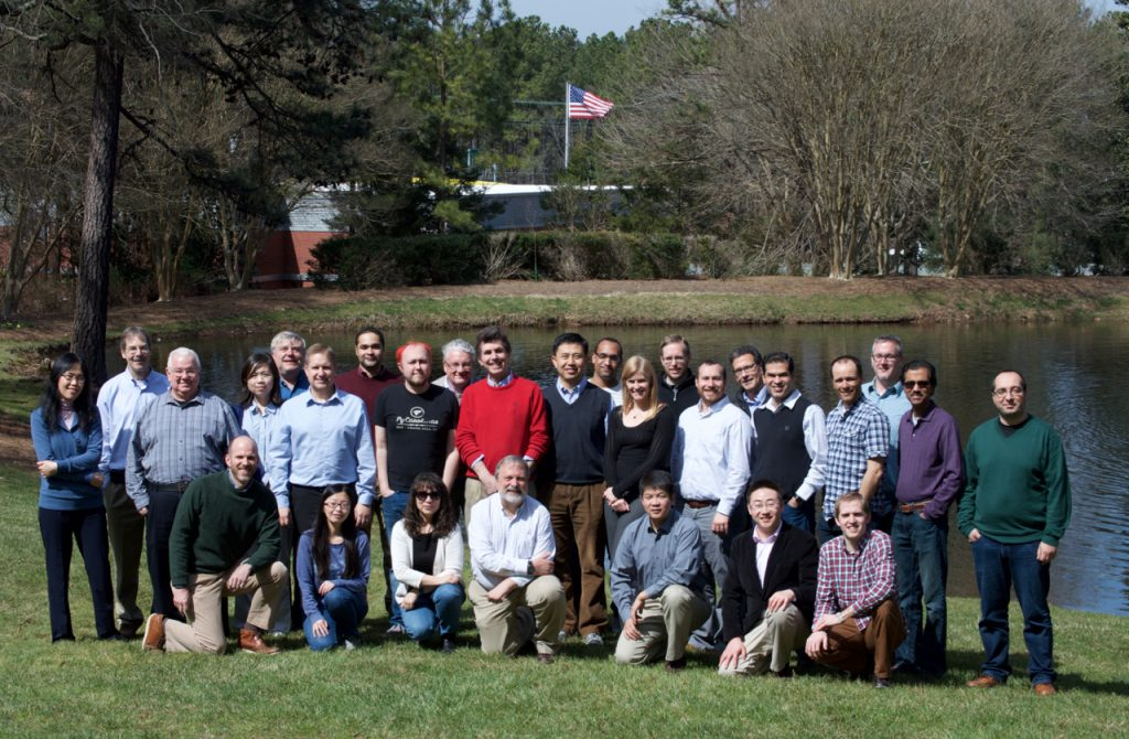 The Hydroshare team gathered at RENCI to finalize improvements to the software and make future plans.